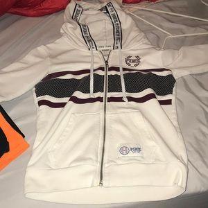 Victoria secret zip up jacket